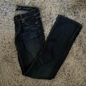 7 for all mankind Straight Leg Jeans Size 24
